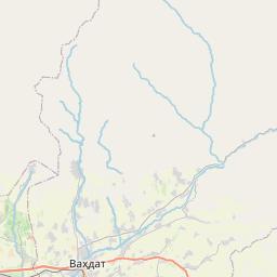 Map of Dushanbe