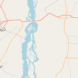 Map of Dera