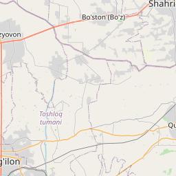 Map of Andijon