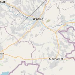 Map of Asaka