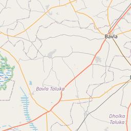 Map of Ahmedabad