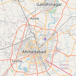 Map of Ahmedabad