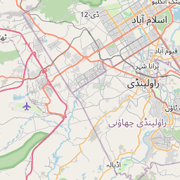 Map of Rawalpindi