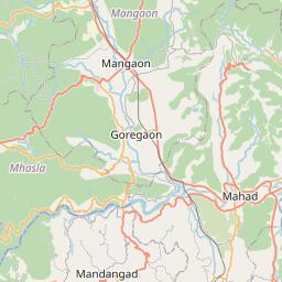 Map of Pimpri