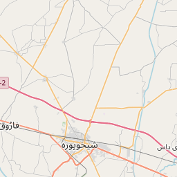 Map of Sheikhupura