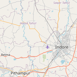 Map of Indore