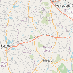 Map of Bengaluru