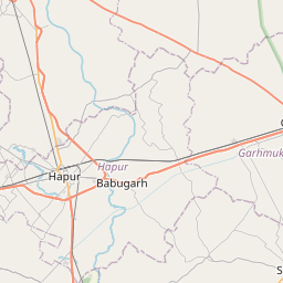 Map of Meerut