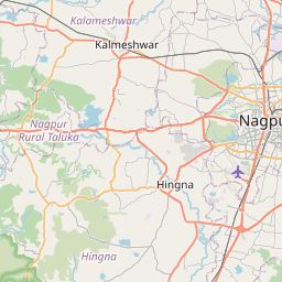 Map of Nagpur