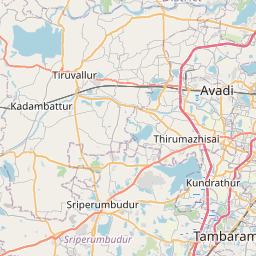 Map of Chennai