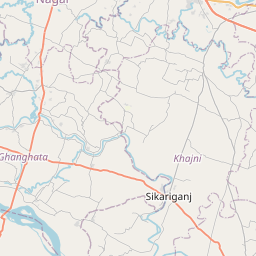 Map of Gorakhpur