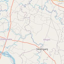 Map of Gorakhpur