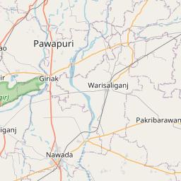 Map of Patna