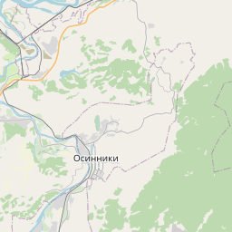 Map of Novokuznetsk