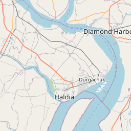 Map of Kolkata