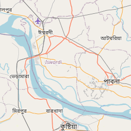 Map of Kushtia