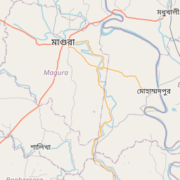 Map of Jessore