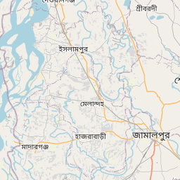 Map of Sherpur