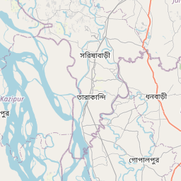 Map of Bogra