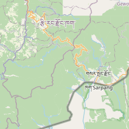 Map of Trongsa