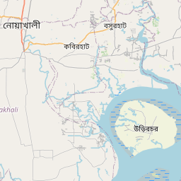 Map of Chittagong