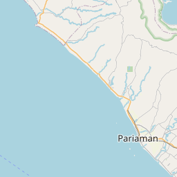 Map of Padang