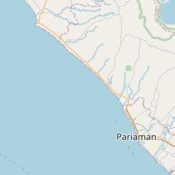 Map of Padang