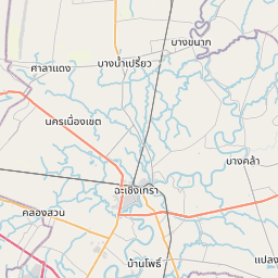 Map of Bangkok