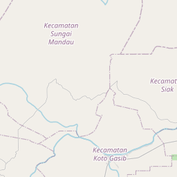 Map of Pekanbaru