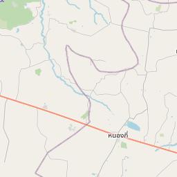 Map of Nakhon