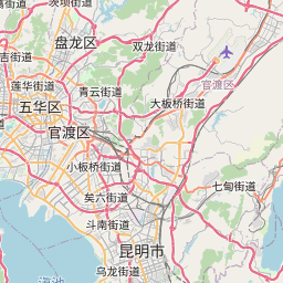 Map of Kunming