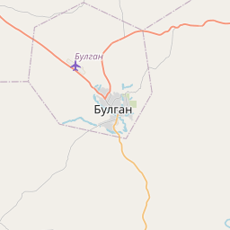 Map of Bulgan