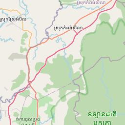 Map of Kampot