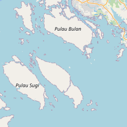 Map of Bajau