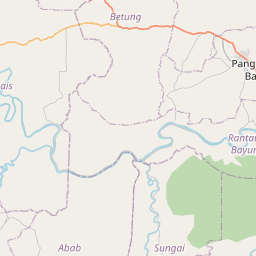 Map of Palembang