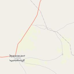 Map of Ulaanhudag
