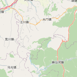 Map of Tianshui