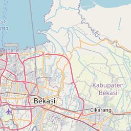 Map of Bogor