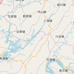 Map of Chongqing