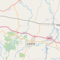 Map of Bandung