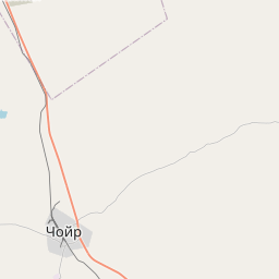 Map of Choyr