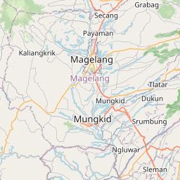 Map of Yogyakarta