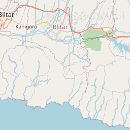 Map of Malang