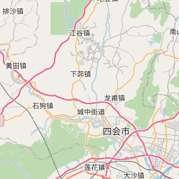 Map of Foshan