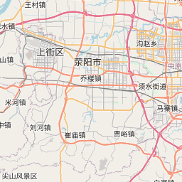 Map of Zhengzhou