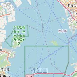 Map of Shenzhen