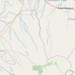 Map of Situbondo