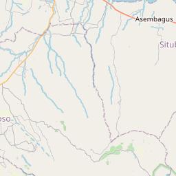 Map of Situbondo