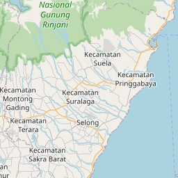 Map of Mataram