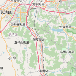 Map of Jinan